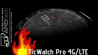 TicWatch Pro 4G/LTE: Unboxing & First Look (New for 2019)