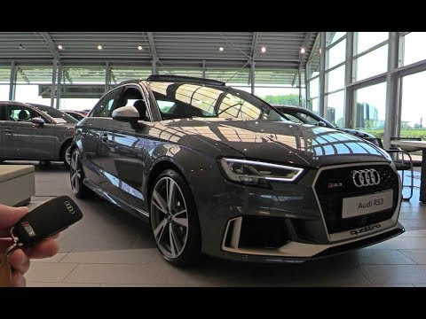 INSIDE the Audi RS3 2017 Exhaust SOUND In Depth Review Interior Exterior 2018