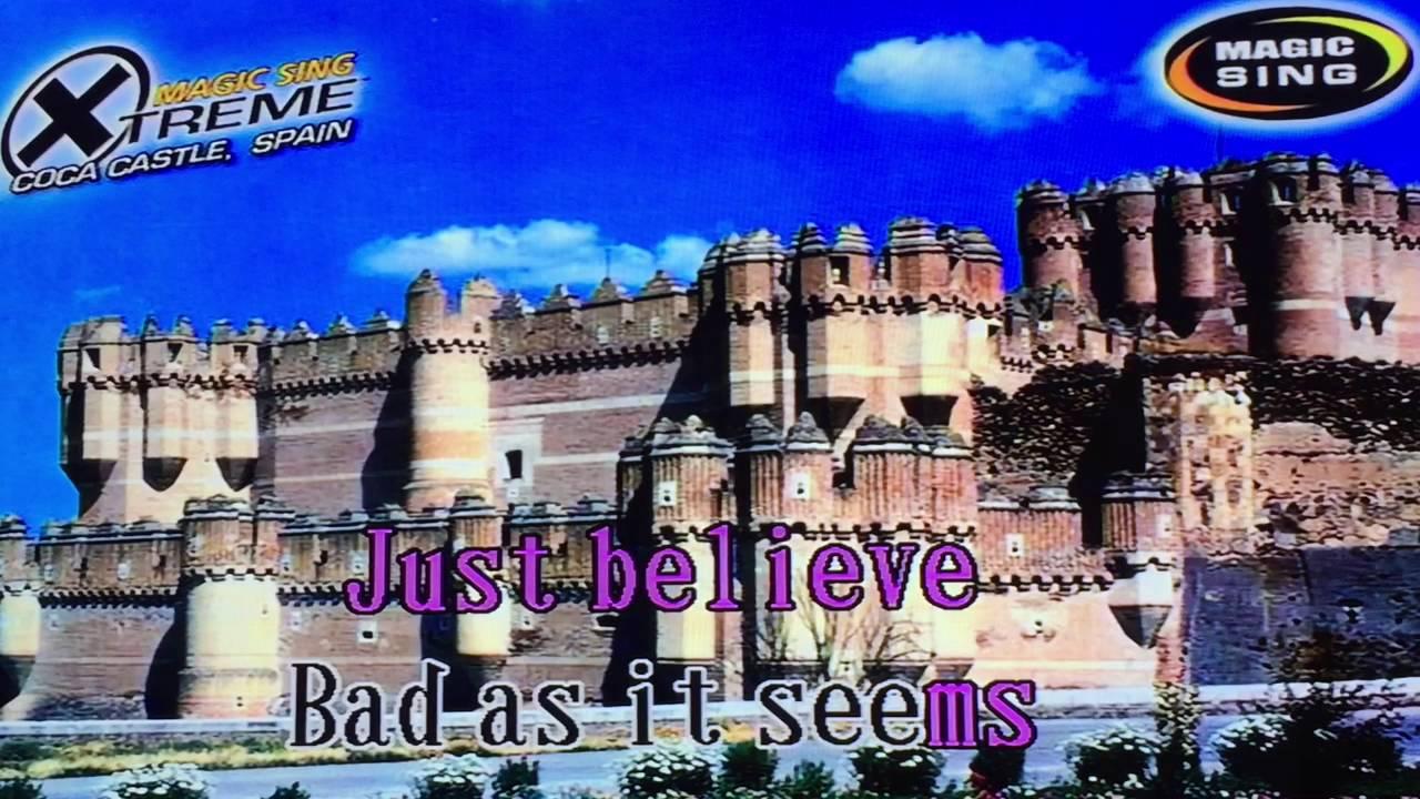 Just Believe By Sarah Geronimo Karaoke Youtube