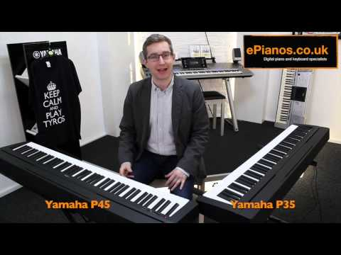 Yamaha P35 v P45 Comparison - What piano should I buy?