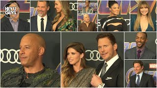 Avengers: Endgame Premiere Red Carpet Photocalls