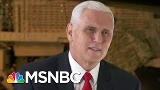 Mike Pence Says He'd Be Happy To See Flynn Back In Government | Morning Joe | MSNBC