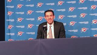 Thunder - Nick Collison retirement press conference