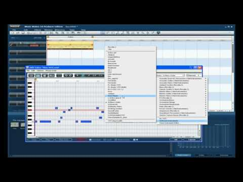 How to VSTi works on Music Maker Producer