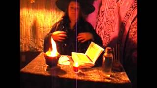Samhain Halloween Magic Ritual with Fire Cauldron with Lady Angela Order of the Purple Cord