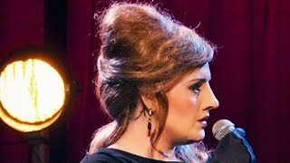 Adele Pranks Audience by Disguising Herself as an Adele Impersonator