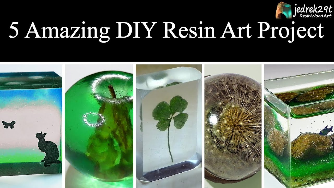 5 Most Amazing Diy Ideas From Epoxy Resin Simple Tutorial Art Resin