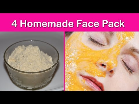 4 Homemade Face Packs For Oily Skin, Acne Scars, Pimple Scar -How to Get Fair Skin Instantly