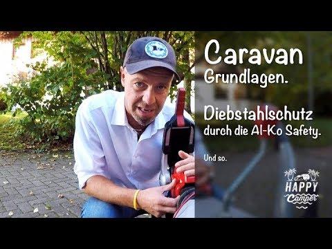 HAPPY CAMPING | 👮🏼 Diebstahlsicherung Deichselschloss Al-Ko Safety.
