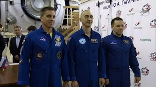 Astronauts In Quarantine Before Mission Aboard ISS