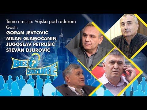 BEZ CENZURE - Goran Jevtović, Milan Glamočanin, Jugoslav Petrušić i Stevan Đurović