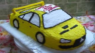 торт машинка Міцубіші