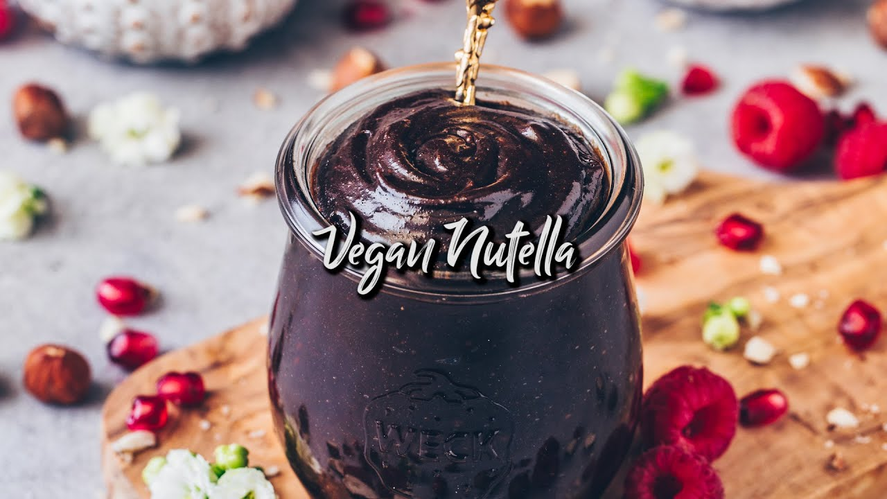 Vegan Nutella * Recipe - homemade, easy & healthy