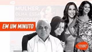 Pai de Damares morreu - Aline Barros e Ivete Sangalo - Leandro Borges cancela evento