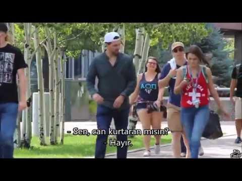 Kızlara Garip iltifatlar Etmek! Türkçe Altyazı HD