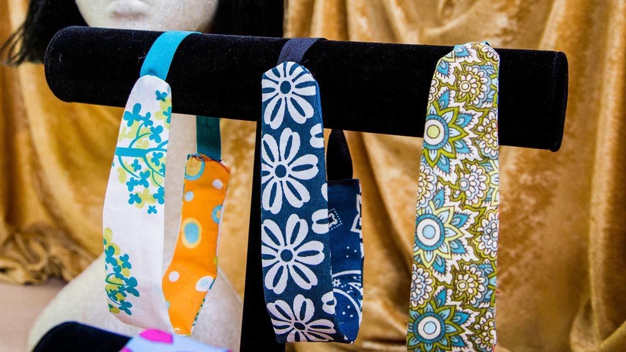 Ken Wingard's DIY Fabric Scrap Headbands - YouTube