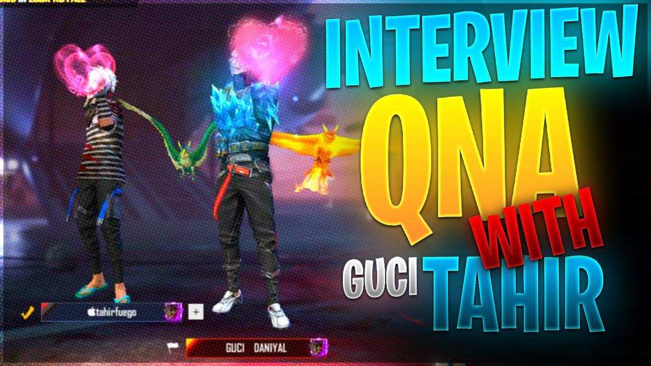 QUESTION  AND ANSWER with |GUCCI TAHIR OR TAHIRFUEGO| SHOTGUN KING