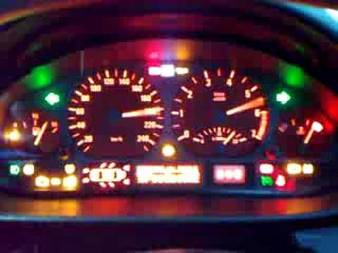 BMW E46 Instrument Cluster Test - YouTube