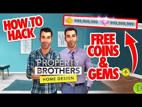 Property Brothers Home Design Hack How To Hack Property Brothers Home Design Free Coins Gems Youtube