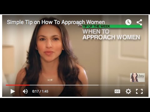 Simple tip on how to approach a girl youtube simple tip on how to approach a girl ccuart Choice Image