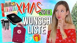 WEIHNACHTSWUNSCHLISTE 🎁 DAS kannst du dir zu Weihnachten wünschen ✨ Wunschideen