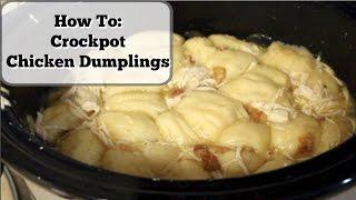 Crockpot Chicken Dumplings!