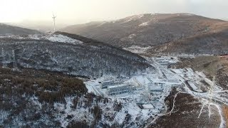 Transport Infrastructure at Key Winter Olympics Venue Nears Completion