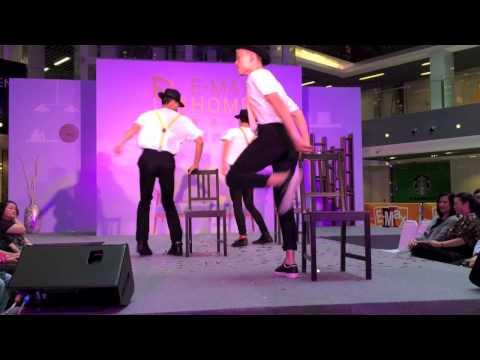 Anjaylia 陳嘉寳,Cheronna 吳嘉熙 - E-max Home 家居中心開幕禮 舞蹈表演 (2014.11.18)