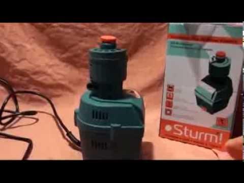 Точильная машина для заточки свёрел Sturm (портативная)