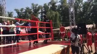 """Боксерсий турнир """"Белых воротничков"""" в Запорожье"""
