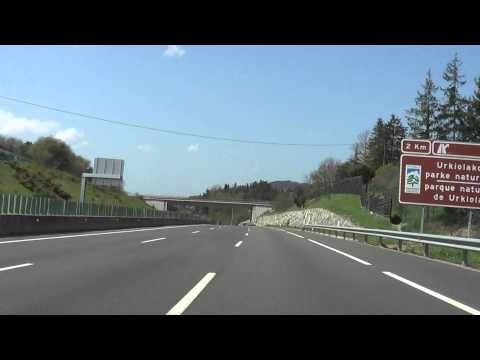 Autopista AP-8: Irún - Bilbao