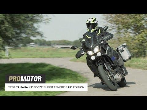 Yamaha XT1200ZE Super Ténéré Raid Edition - test Promotor