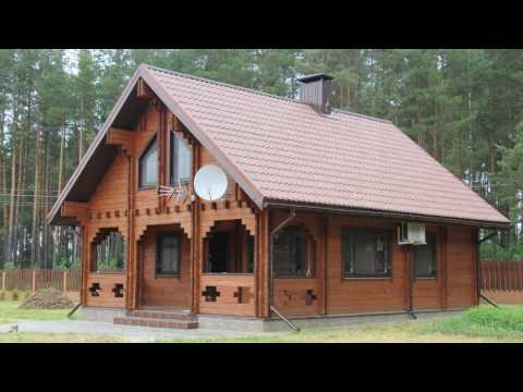 Двойной брус -  деревянные дома в Минске