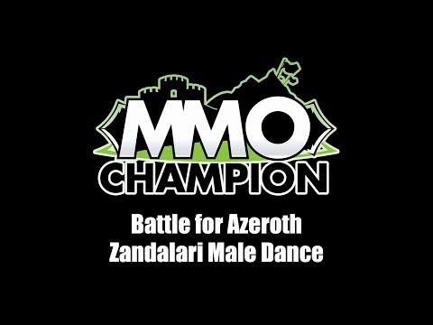Patch 8.1.5 - Zandalari Male Dance