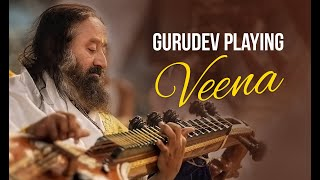 Sri Sri Ravi Shankar Playing the Veena during Navratri (HD)