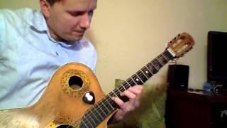 Лунная соната Бетховена Урок игры на гитаре Виталик Мясников