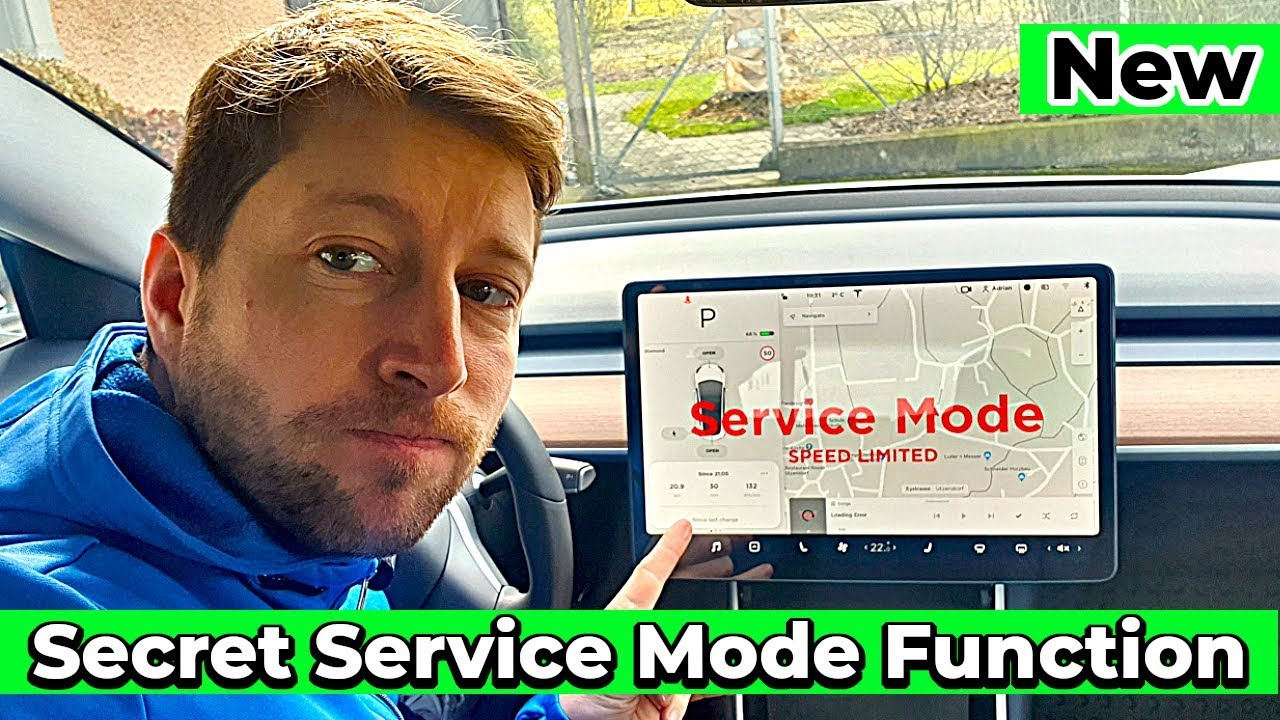 They forgot my Tesla Model 3 in Service Mode l How i turn ...