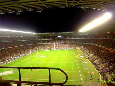Swing low, Sweet Chariot - Twickenham - England v. France 2011