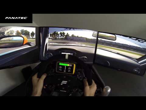 Use a smartphone on a Clubsport Rim to display telemetry data