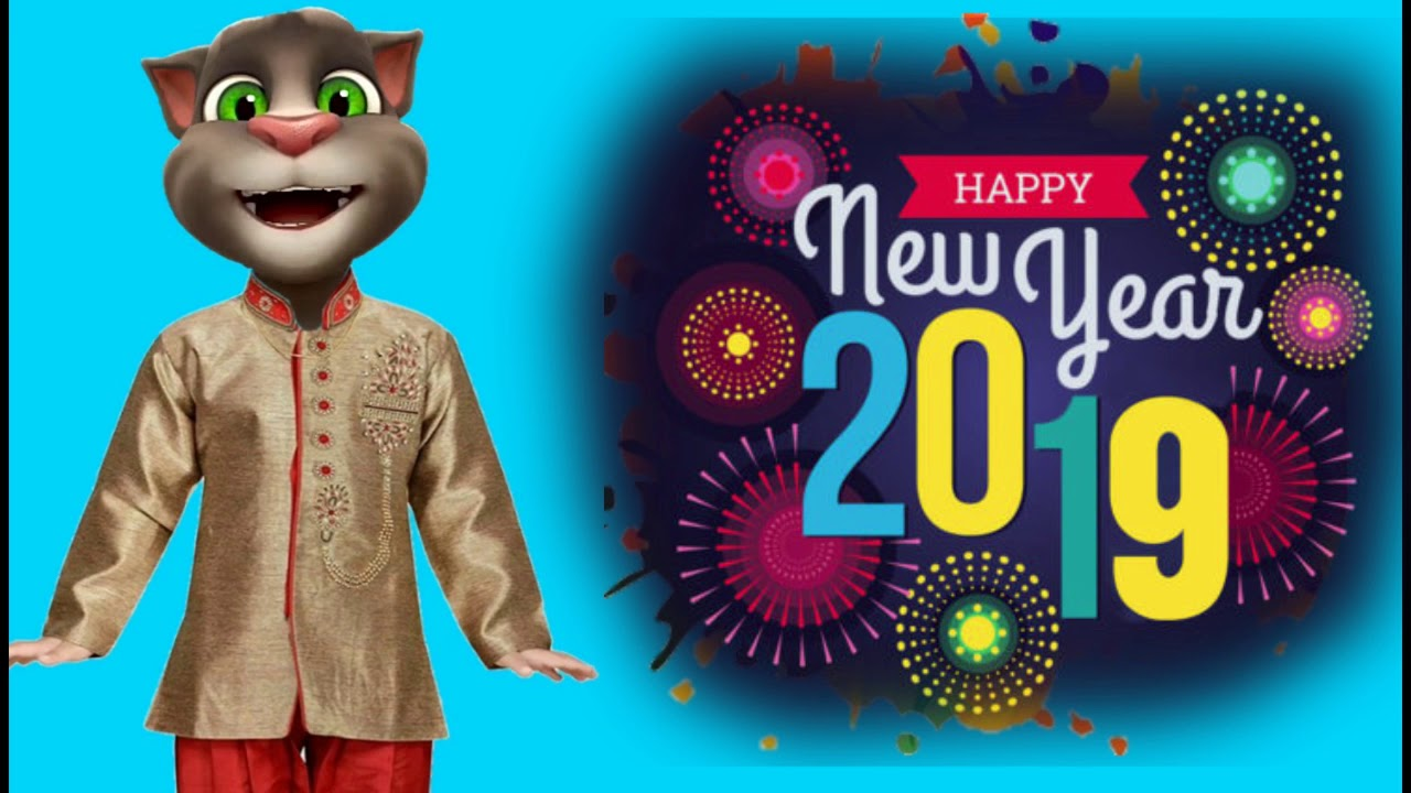 Happy new year 2019 funny cartoon images in hindi