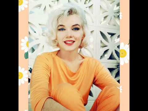 Marilyn Monroe in Colour 💋Marilyn looking hot in orange Pucci Mp3