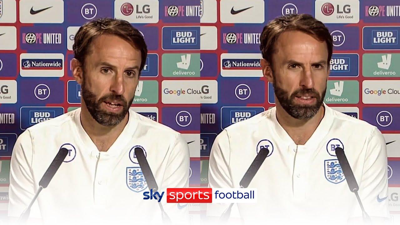 Gareth Southgate's press conference after losing EURO 2020 final