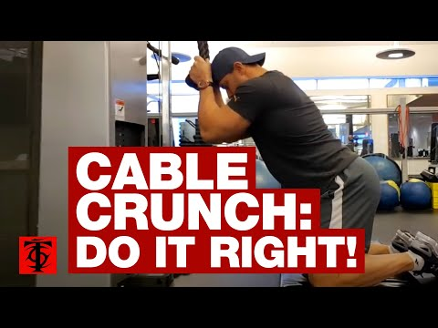 Cable Crunch: Correct Form