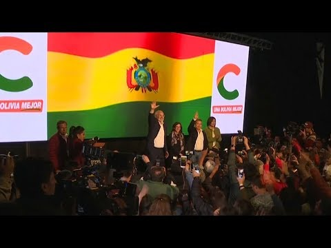 Bolivians Protest Results Showing President Morales Win
