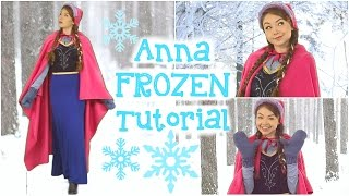 DIY Anna Frozen Costume, Hair, & Makeup! Thumbnail