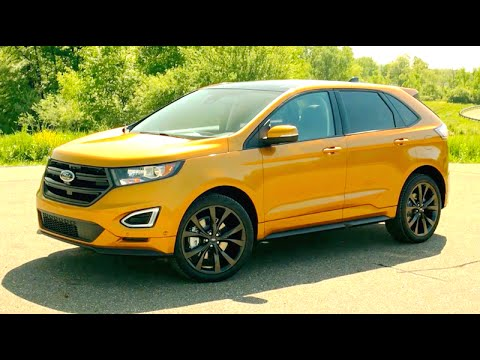 New Ford Edge  First Test Drive