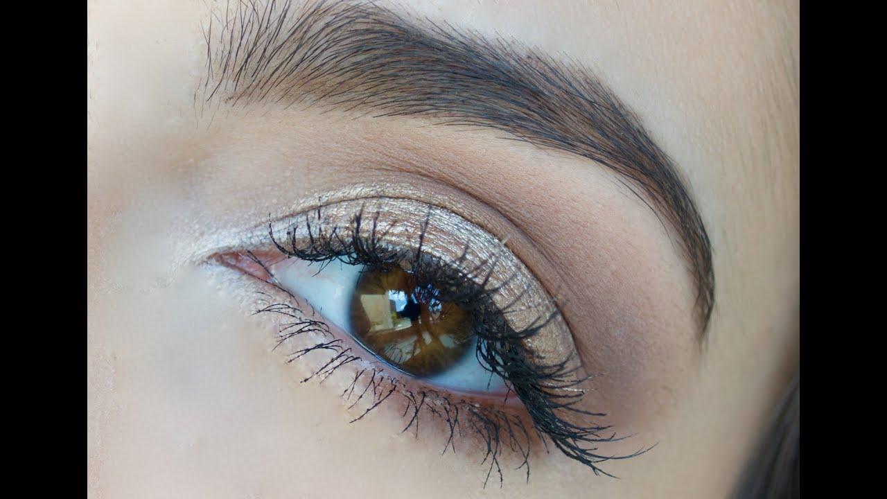 Como maquillar ojos para PRINCIPIANTES Anna Sarelly YouTube