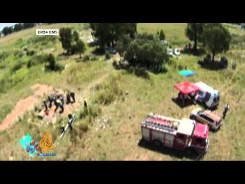 Hundreds Trapped In South African Gold Mine