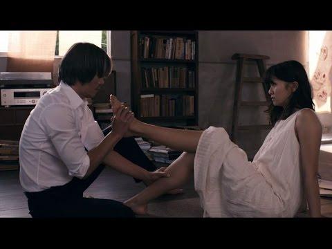 """映画「娚の一生」予告編 """"足キス""""映像がついに公開 #Otoko no Issho #movie"""