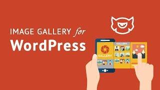 How do I create a WordPress photo gallery tutorial